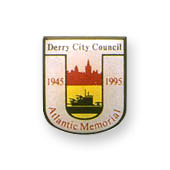 Derry City Council Printed Badges